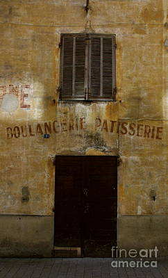 Photograph - Boulangerie by Louise Fahy
