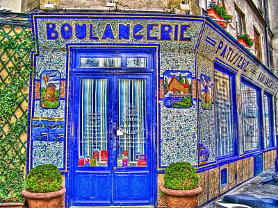 Boulangerie Paris Art Print