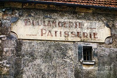 Boulangerie Photograph - Boulangerie Patisserie by Olivier Le Queinec