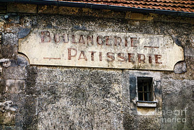 Patisserie Photograph - Boulangerie Patisserie by Olivier Le Queinec