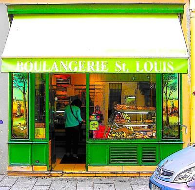 Ile St Louis Photograph - Boulangerie St Louis by Jan Matson