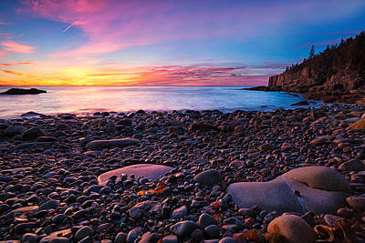 Photograph - Boulder Beach Sunrise by Darylann Leonard Photography