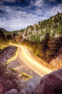 Sky Art Photograph - Boulder Canyon Beams Of Light by James BO  Insogna