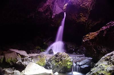 Boulder Cave Falls  Original