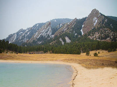 Photograph - Boulder Colorado Flatirons Oceanfront Property by James BO Insogna