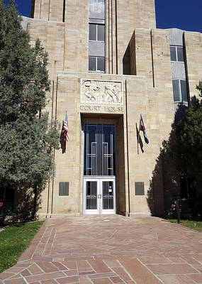 Photograph - Boulder County Courthouse by Ann Powell