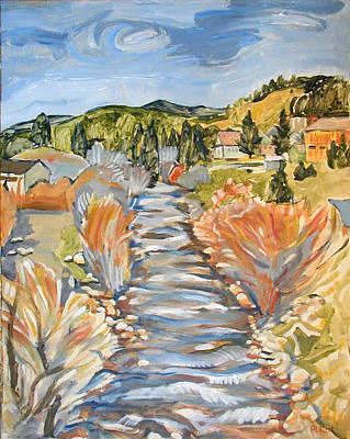 Boulder Creek Nederland Co Original by Al Hart