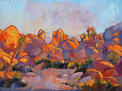 Painting - Boulder Glow by Erin Hanson