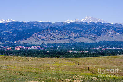 Steven Krull Royalty-Free and Rights-Managed Images - Boulder in the Summertime by Steven Krull