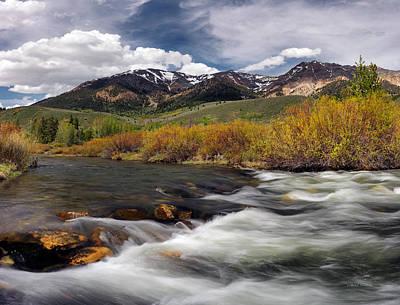 Boulder Mountain Photograph - Boulder Mountains by Leland D Howard