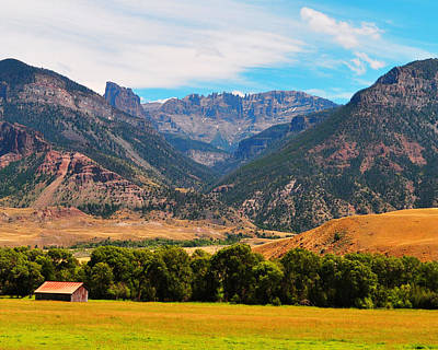 Olympic Sports - Boulder Ridge Washakie Wilderness by Lisa Holland-Gillem