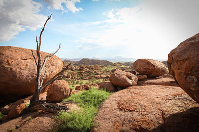 Capt. Greg Daley Photograph - Boulders by Gregory Daley  PPSA