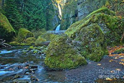 Photograph - Boulders In The Gorge by Adam Jewell