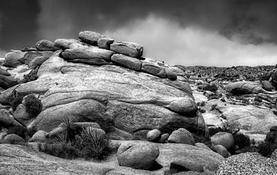 Photograph - Boulders Joshua Tree National Park by Sandra Selle Rodriguez