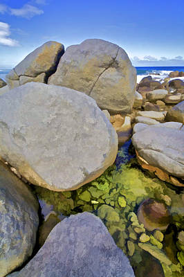 Photograph - Boulders Of Aruba by David Letts