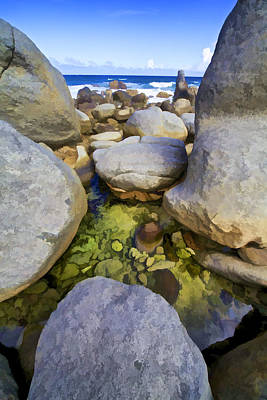Photograph - Boulders Of Aruba IIi by David Letts