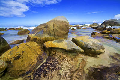 Photograph - Boulders Of Aruba Iv by David Letts