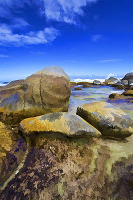 Photograph - Boulders Of Aruba V by David Letts