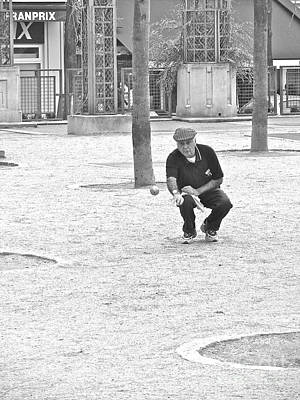 Photograph - Boules Tournament  by Suzanne Oesterling