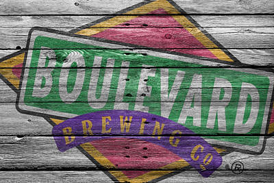Handcrafted Photograph - Boulevard Brewing by Joe Hamilton