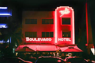 Photograph - Boulevard Hotel by Gary Dean Mercer Clark