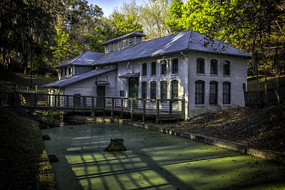 Boulware Springs Water Works Art Print by Lynn Palmer