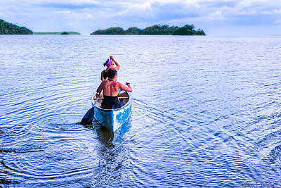 Photograph - Bound For New Adventures - Lake Nicaragua by Mark E Tisdale