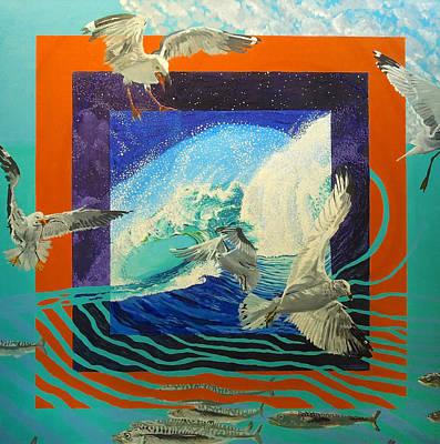 Boundary Series Ix Art Print