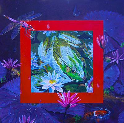Boundary Series Xii Art Print