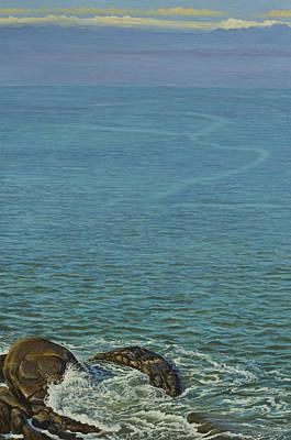 Painting - Boundless Ocean by Vrindavan Das