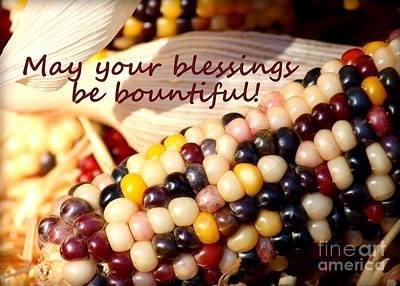 Bountiful Blessings  Art Print