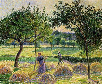 Bountiful Harvest, 1893 Print by Camille Pissarro