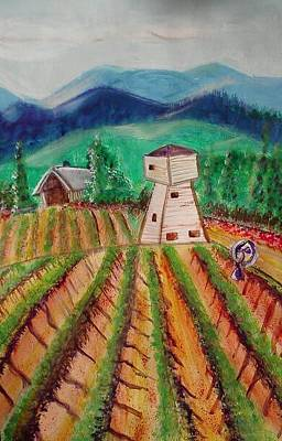 Painting - Bountiful Harvest by Carol Duarte