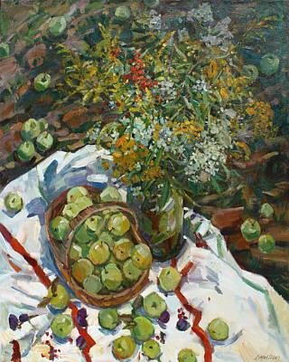 Painting - Bountiful Harvest by Juliya Zhukova