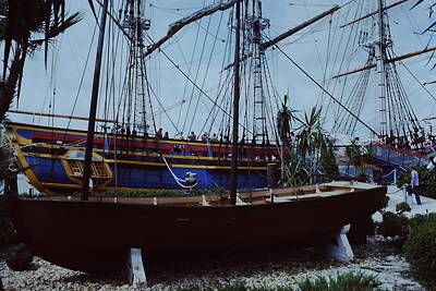 Photograph - Bounty Docked by Pat Knieff