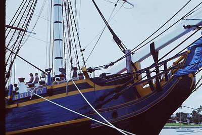 Photograph - Bounty Sails On by Pat Knieff