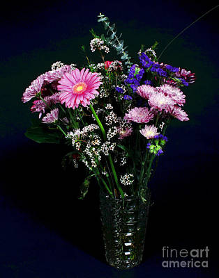 Photograph - Bouquet Celebration by Larry Oskin