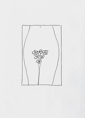 Daisy Drawing - Bouquet D'amour by Rob Prince