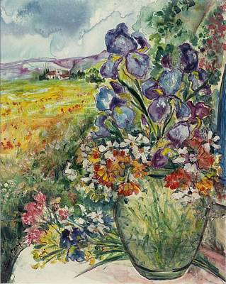 Painting - Bouquet De Provence by Elaine Elliott