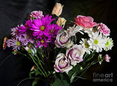 Photograph - Bouquet by Donna Brown