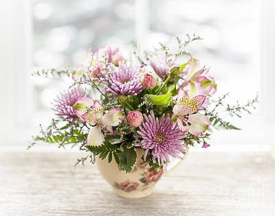 Chrysanthemum Photograph - Bouquet by Elena Elisseeva