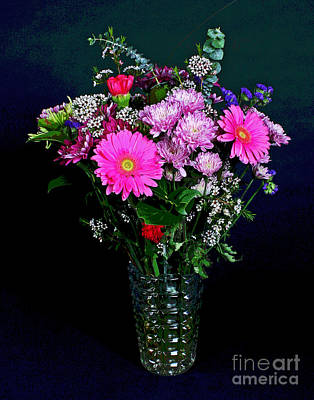 Photograph - Bouquet by Larry Oskin