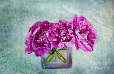 Bouquet Of Beauty Art Print by Andrea Kollo
