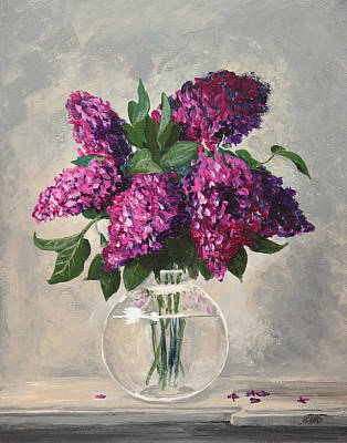 Painting - Bouquet Of Lilac by Masha Batkova