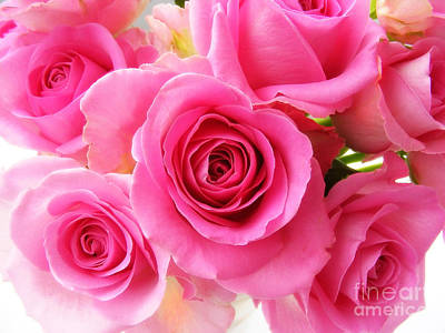 Photograph - Bouquet Of Pink Roses 2 by Nina Ficur Feenan