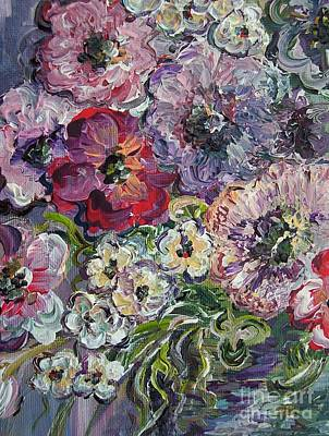 Bright Colors Painting - Bouquet Of Sweetness by Eloise Schneider