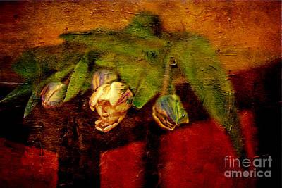 Bouquet Of Tulips Art Print