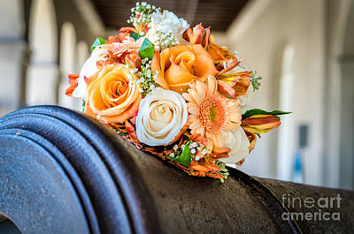 Photograph - Bouquet On A Cannon by Kathleen K Parker