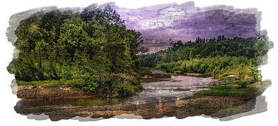 Painting - Bourbeuse River by Lisa and Norman  Hall