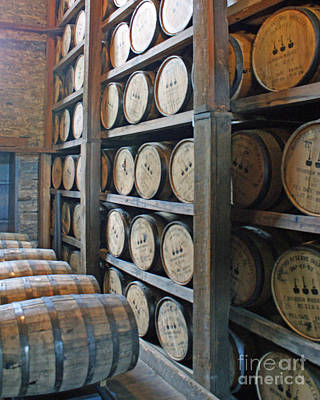 Kentucky Photograph - Bourbon Barrel House by Roger Potts